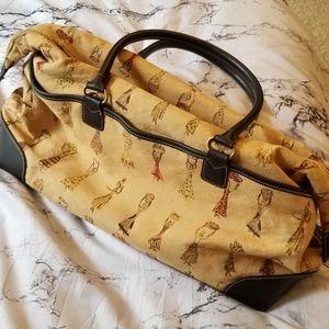 Etienne Aigner African Xhosa Women Print Handbag